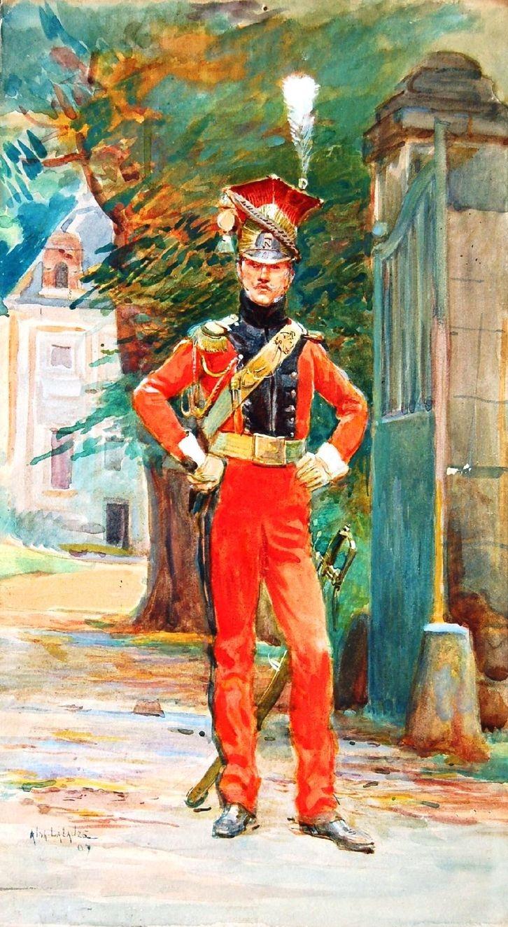 Lancier Rouge Napoléonien