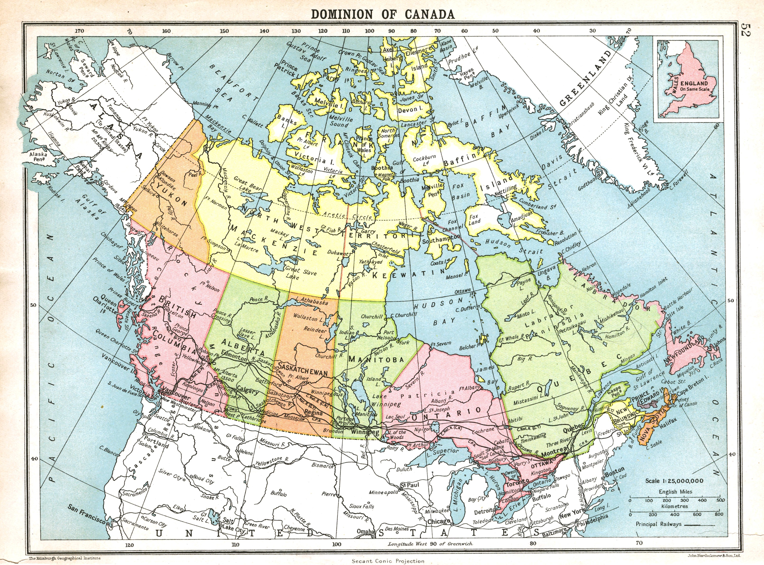 Large Detailed Map Of Canada File:Large detailed old political and administrative map of canada