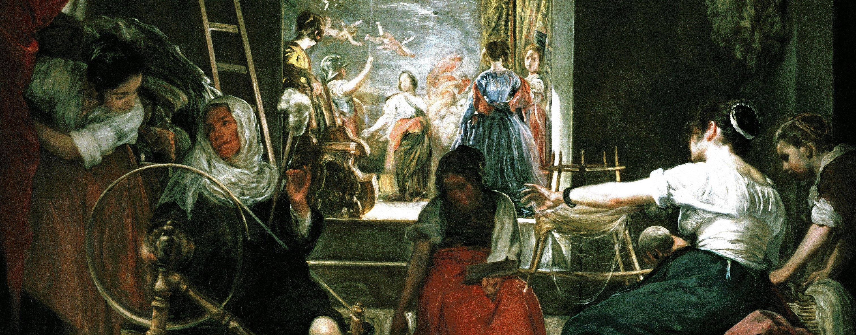 File:Las hilanderas Velázquez detail.jpg - Wikimedia Commons
