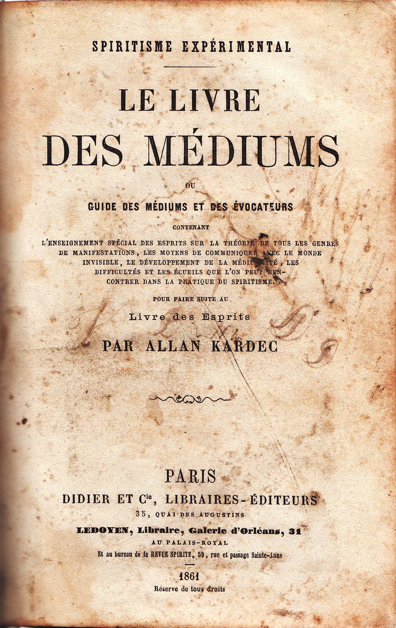 O Livro dos Médiuns - Allan Kardec