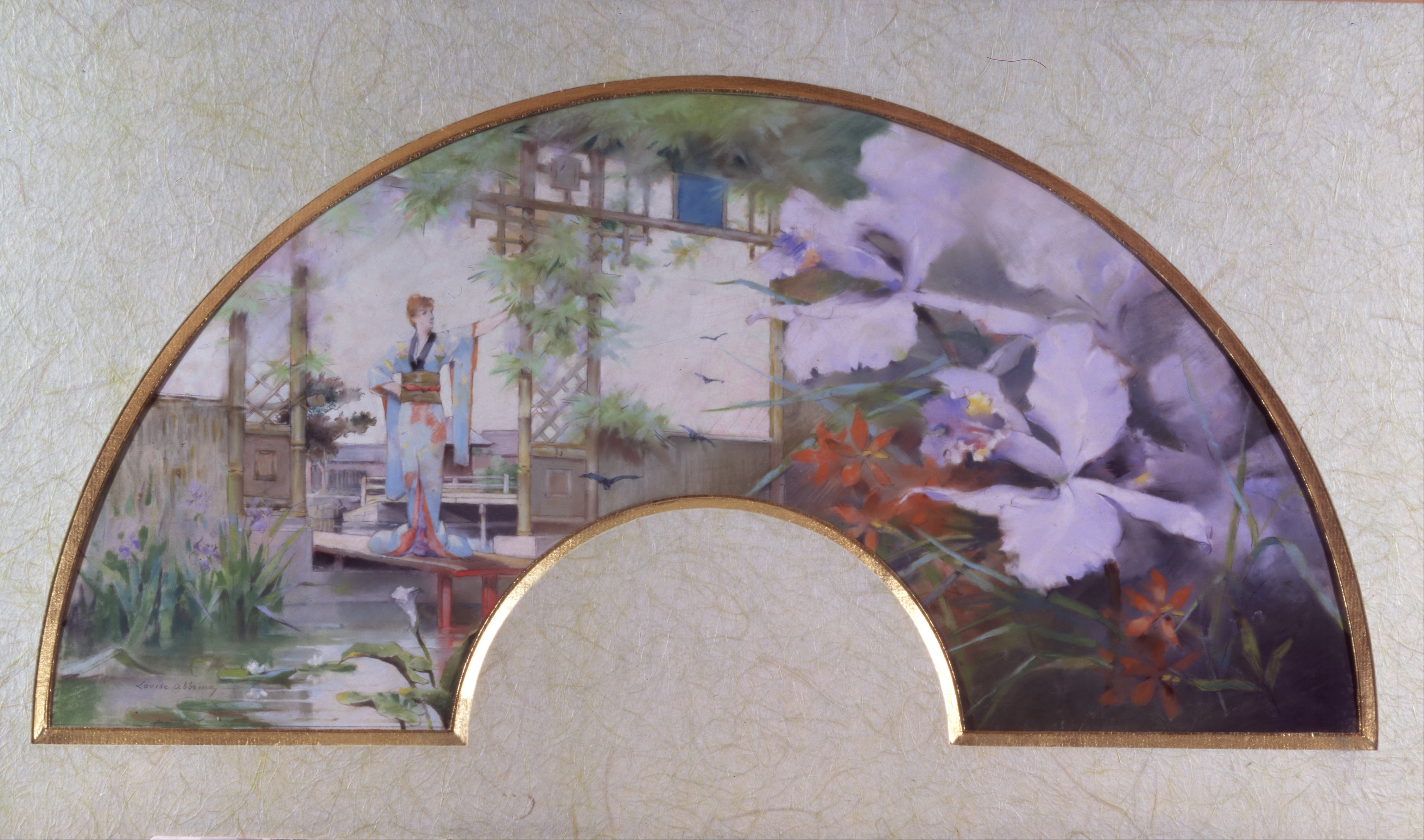 File louise abb ma sarah bernhardt in a japanese garden for Japanese garden project