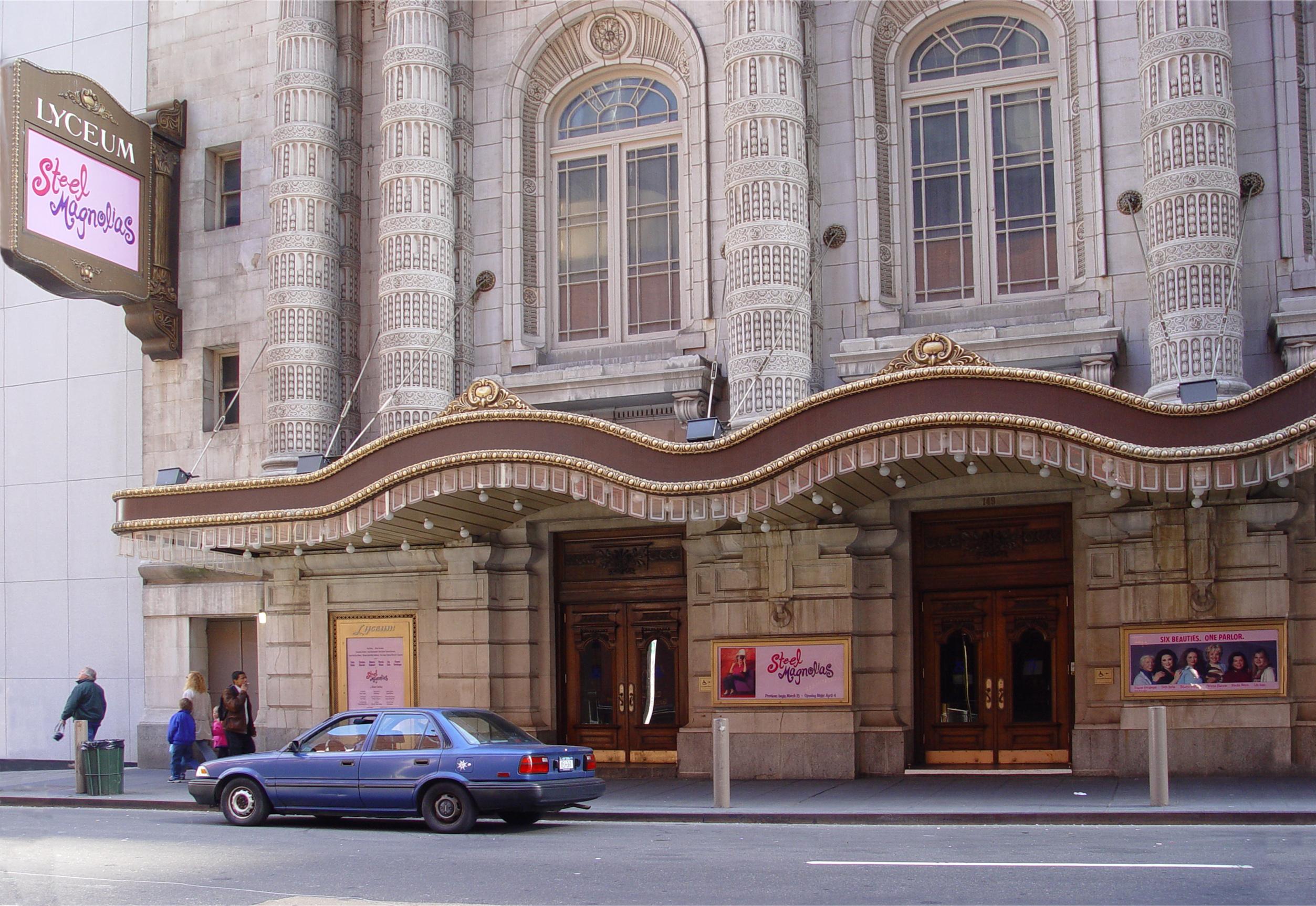 Lyceum, das älteste in Betrieb befindliche Theater am Broadway