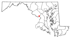 Location of Silver Spring, Maryland