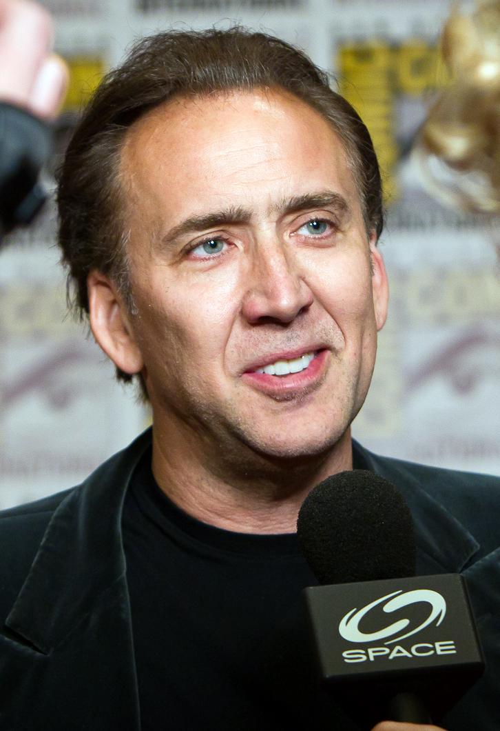 Poet Nicolas Cage