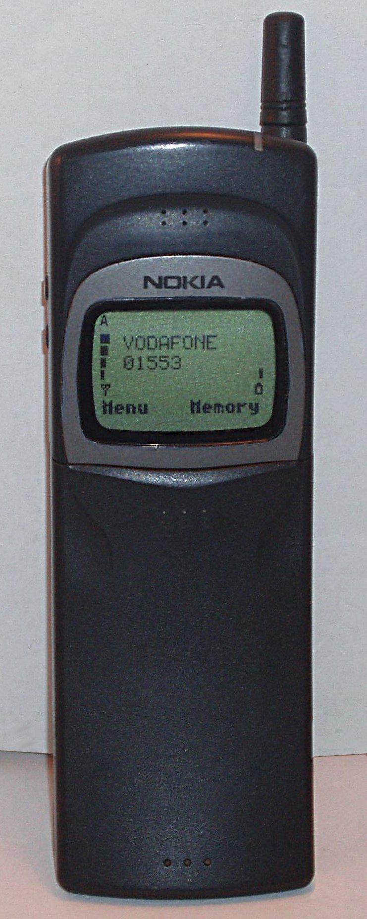 Imagens de telemóveis antigos - Nokia 8110