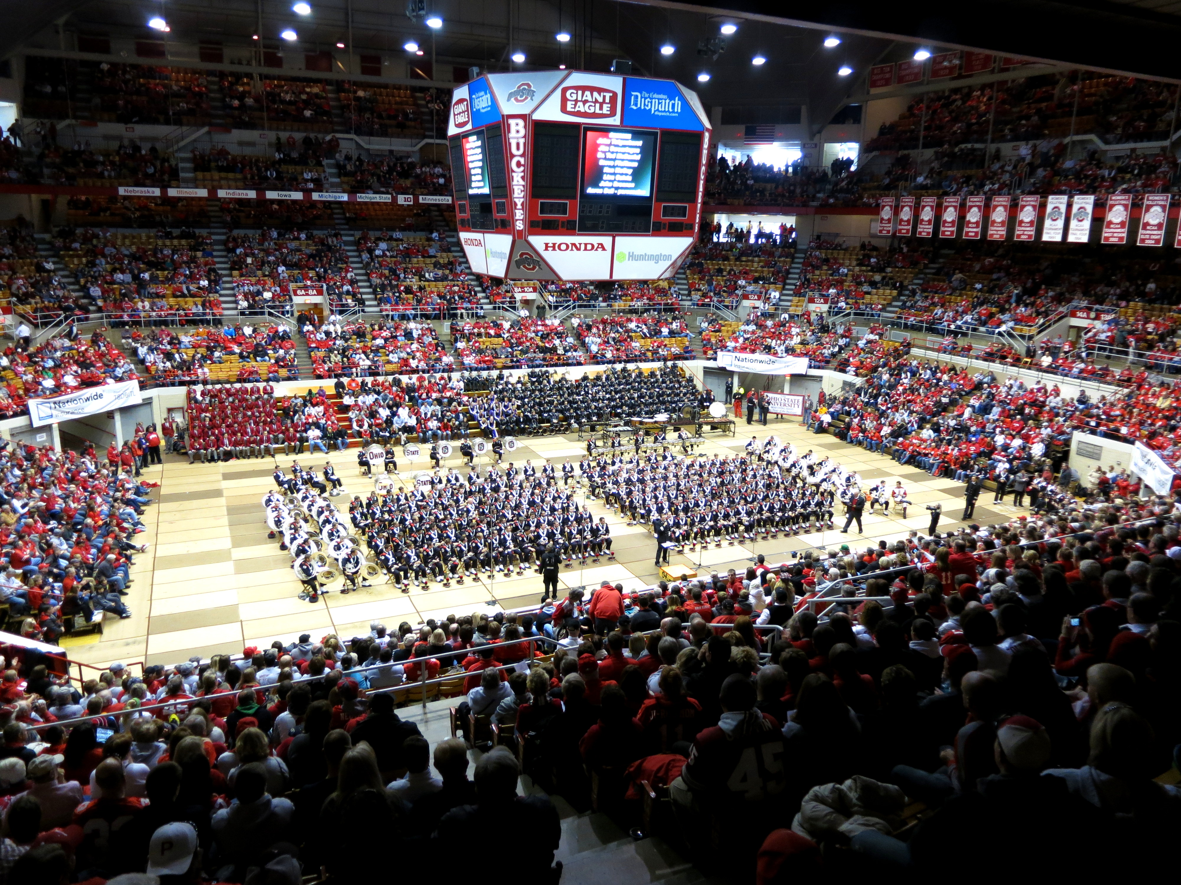File OSU Marching Band Skull Session in St. John Arena (Columbus ... 8987440fb