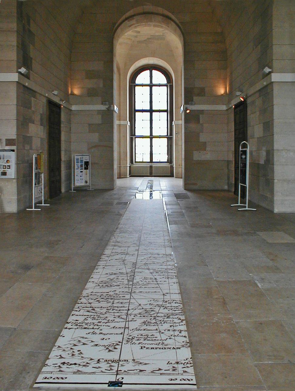 Salle de la Méridienne, à L'observatoire de Paris
