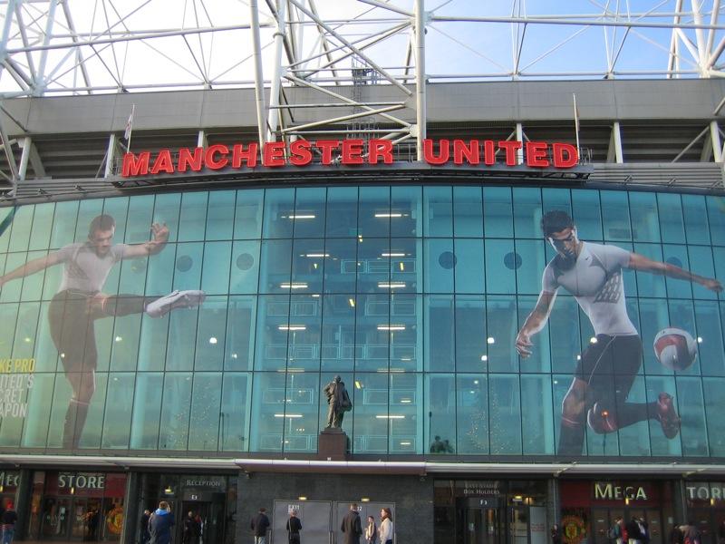 Fichier:Old Trafford entrace.jpg