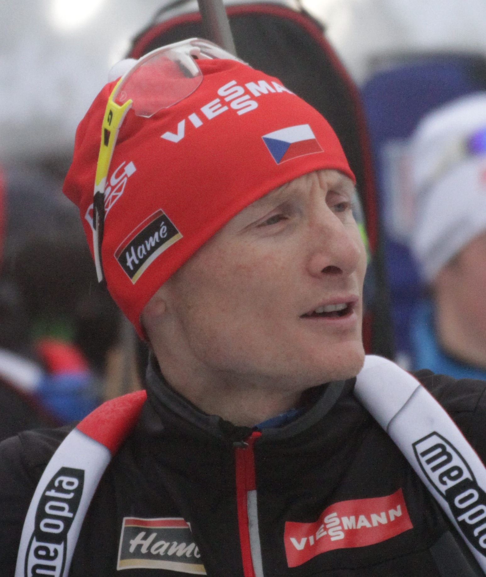 Moravec on [[2017–18 Biathlon World Cup – Stage 4|Oberhof World Cup]] in 2018.