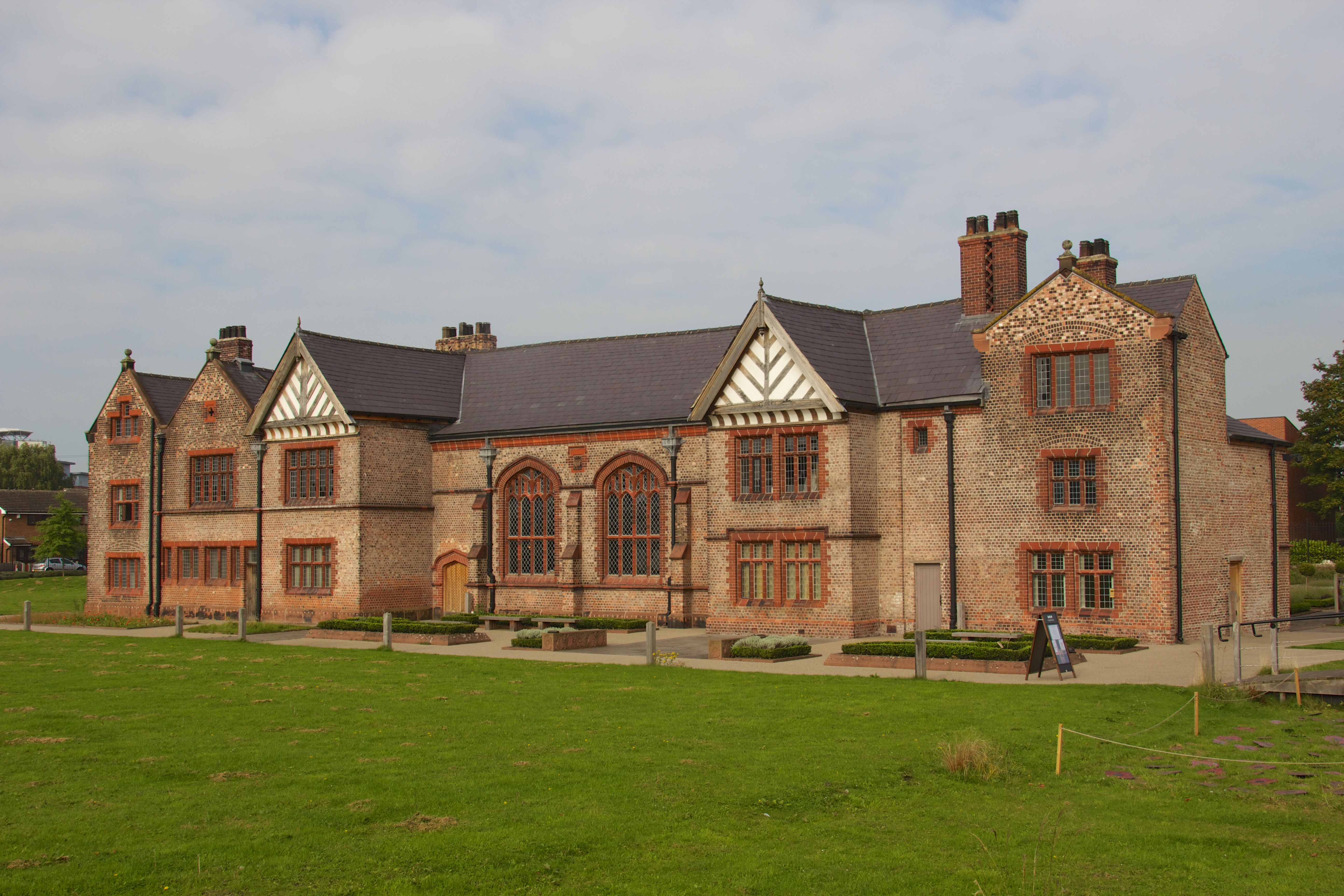 2-storey building