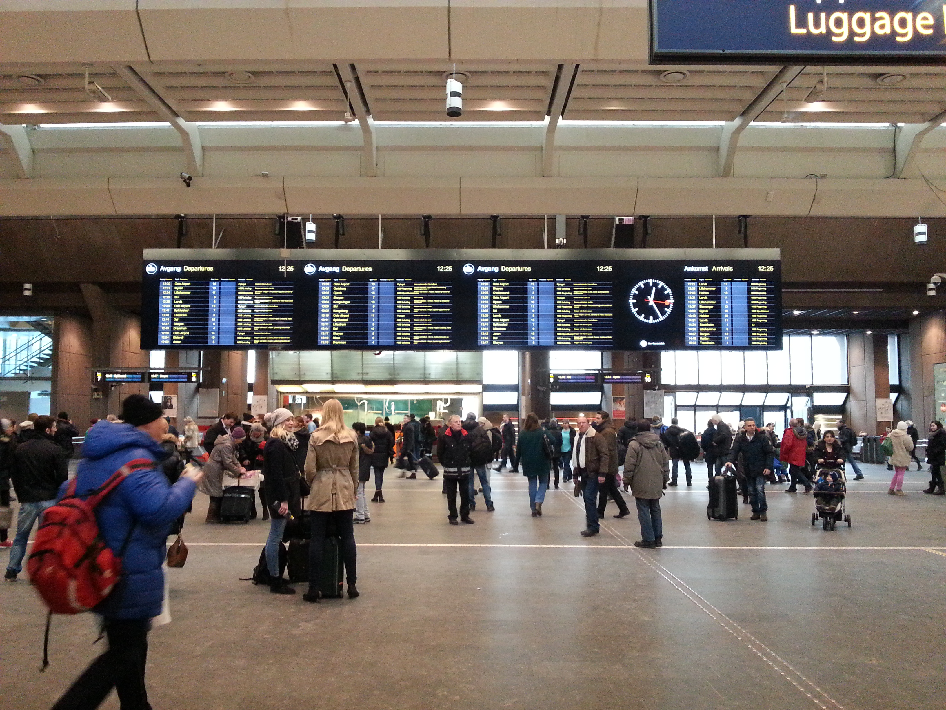 Forex oslo central station