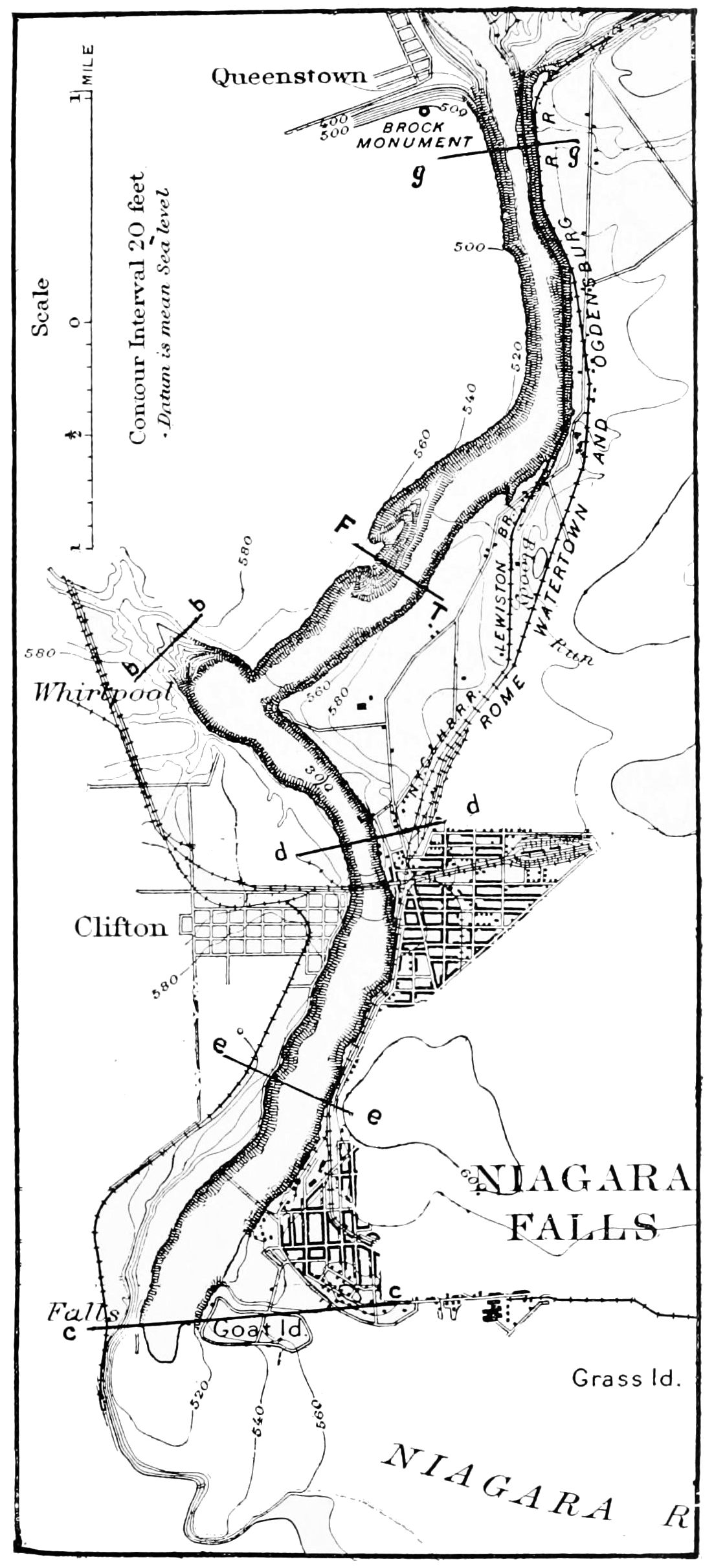 PSM V49 D021 Map of the niagara gorge.jpg