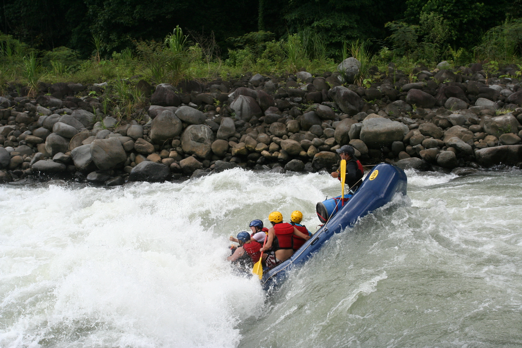 White Water Rafting On Ayung River At Sayan