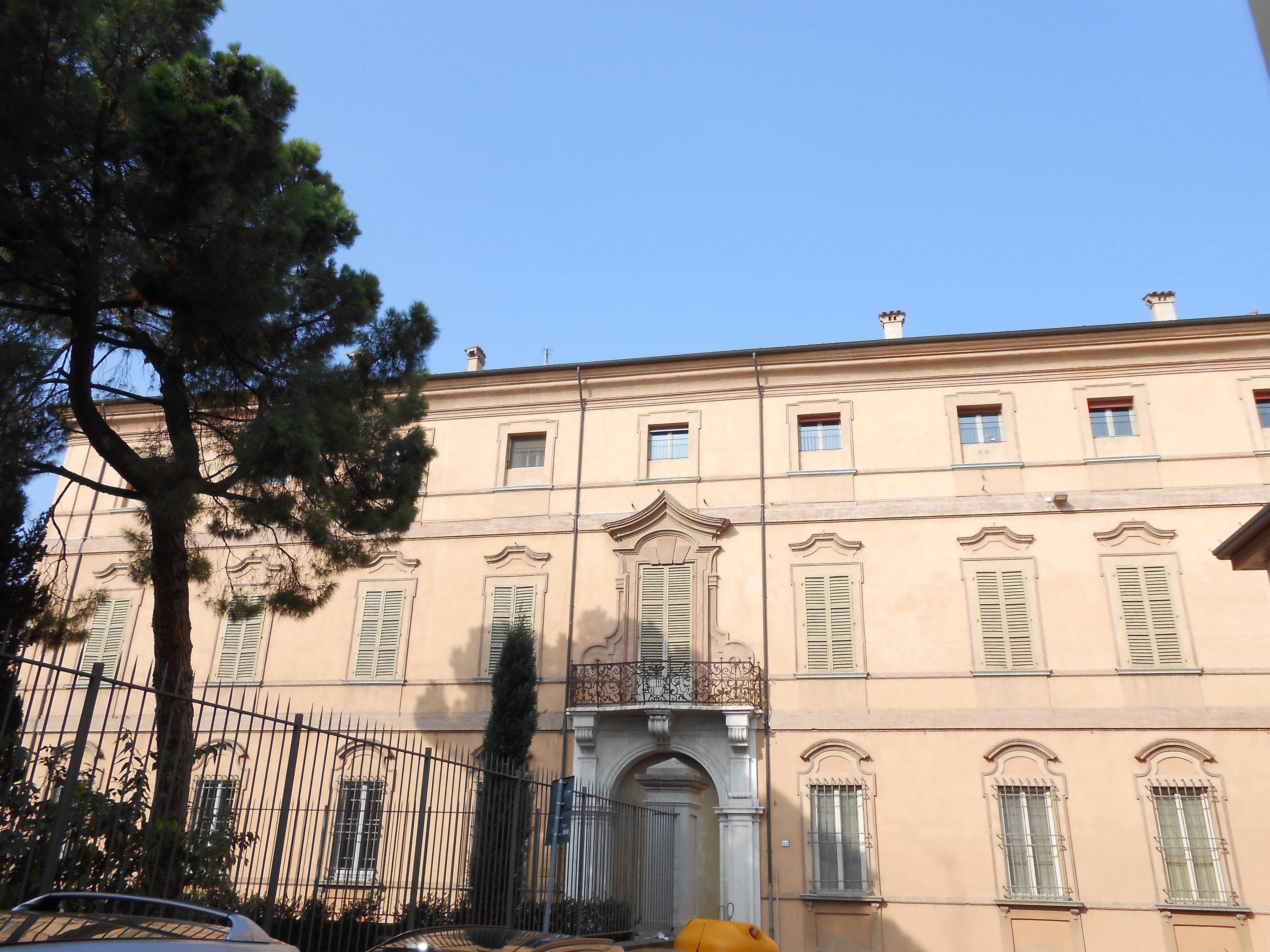 Palazzo Cavina Faenza facciata