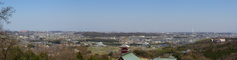 ファイル panoramic from ganshoji 02 jpg wikipedia