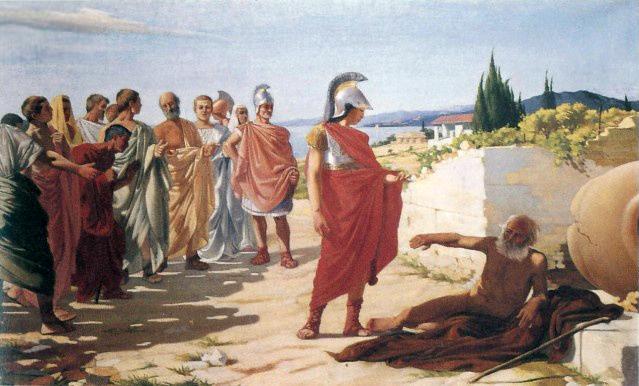 Fichier:Paride Pascucci - Alessandro e Diogene.jpg