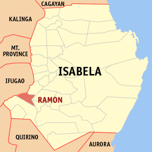 Mapa na Isabela ya nanengneng so location na Ramon