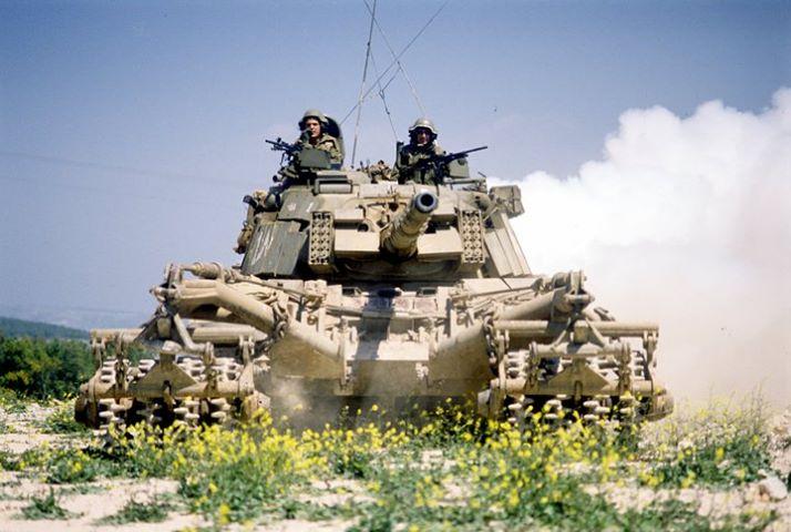 גדוד שריון ברמת הגולן