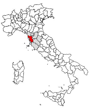 Pisa Karte.Province Of Pisa Wikiwand