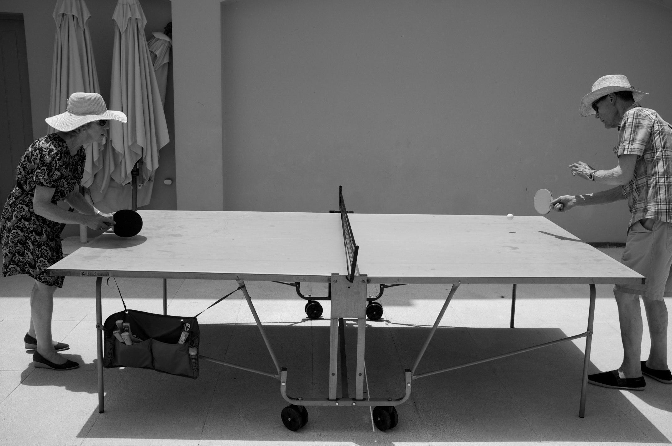 نمونه میز پینگپنگ