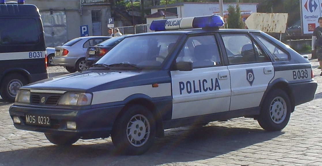 Balice Poland  city images : poland police car