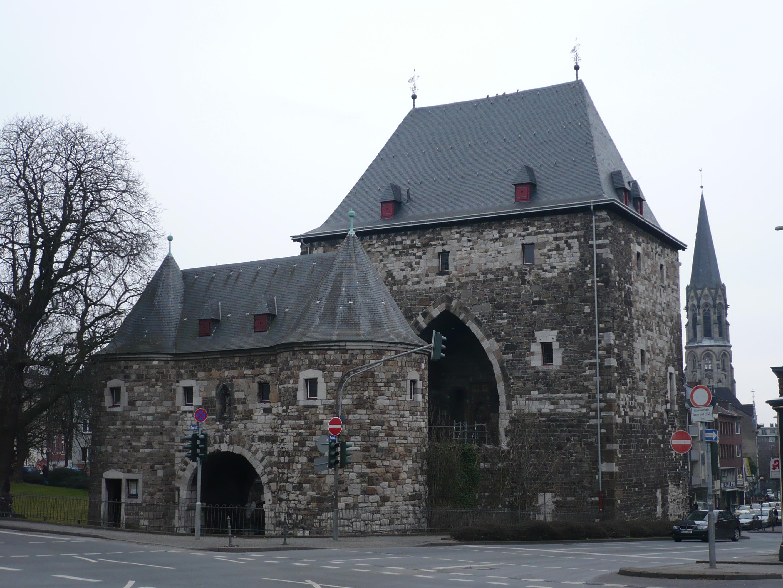File Ponttor Aachen Iv Jpg Wikimedia Commons