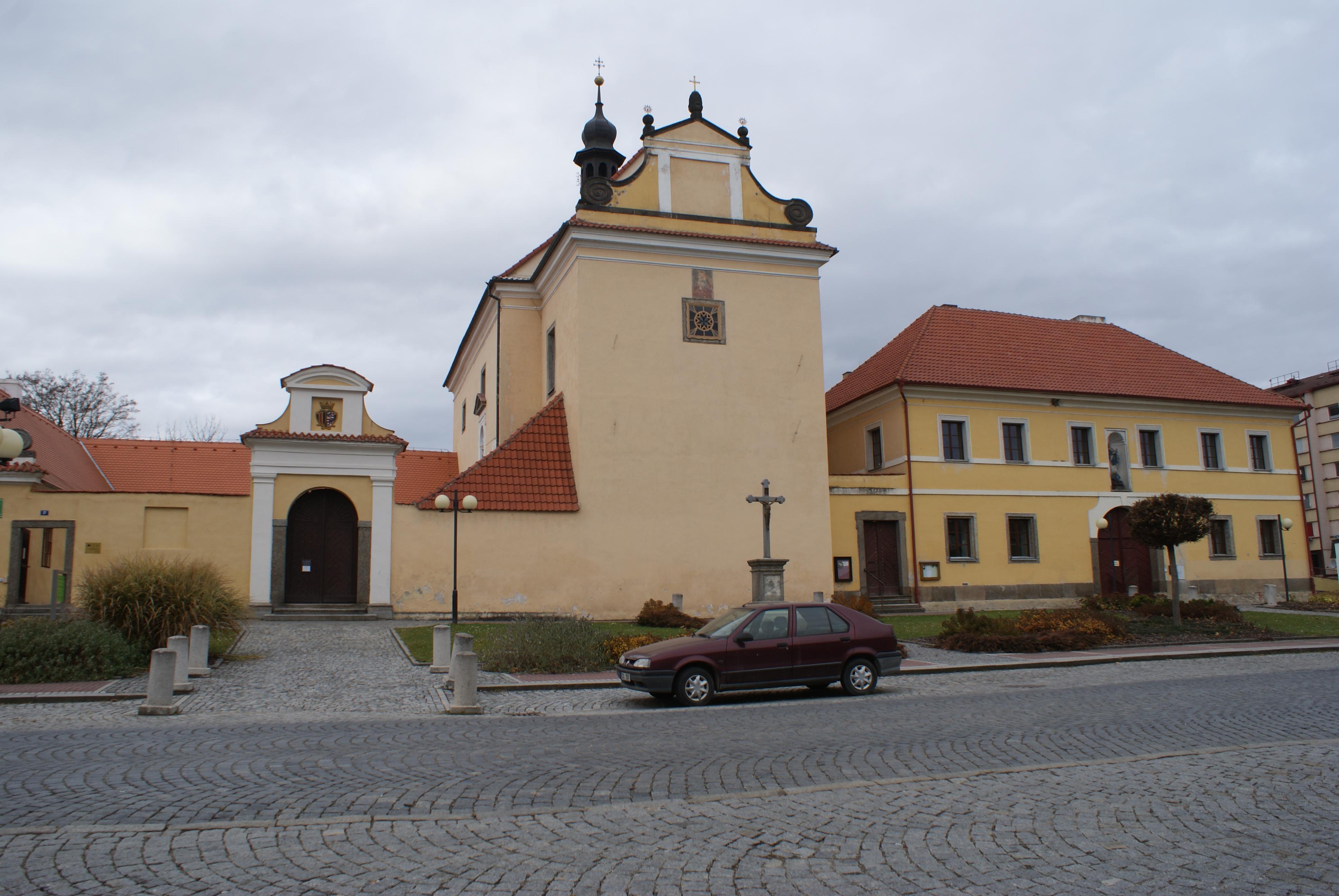 kostel sv. Alžběty v Protivíně