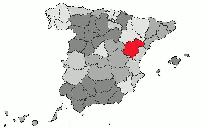 Teruel Spain Map.Spain Map Teruel