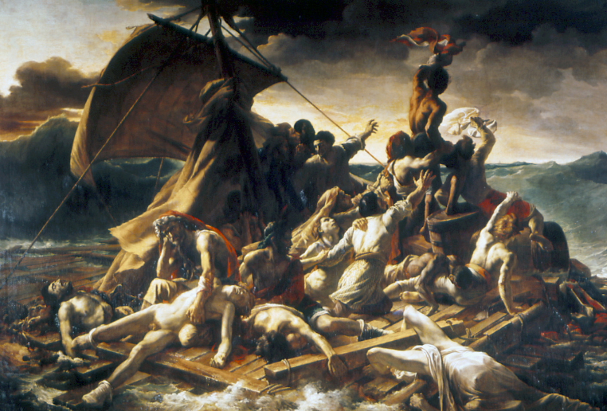 Consecuencies de llevar el timón de la nave hacia les restingues: La balsa de la Medusa (1819) de Théodore Géricault
