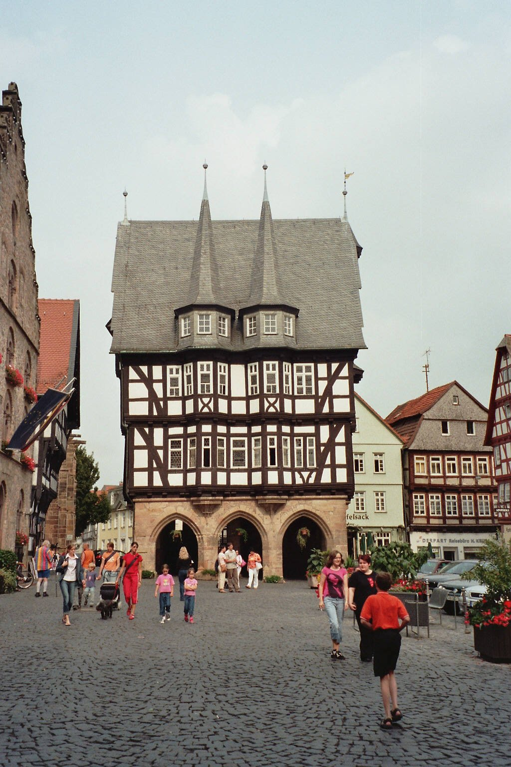 Alsfeld Germany  city pictures gallery : Rathaus Alsfeld01 Alsfeld, Germany