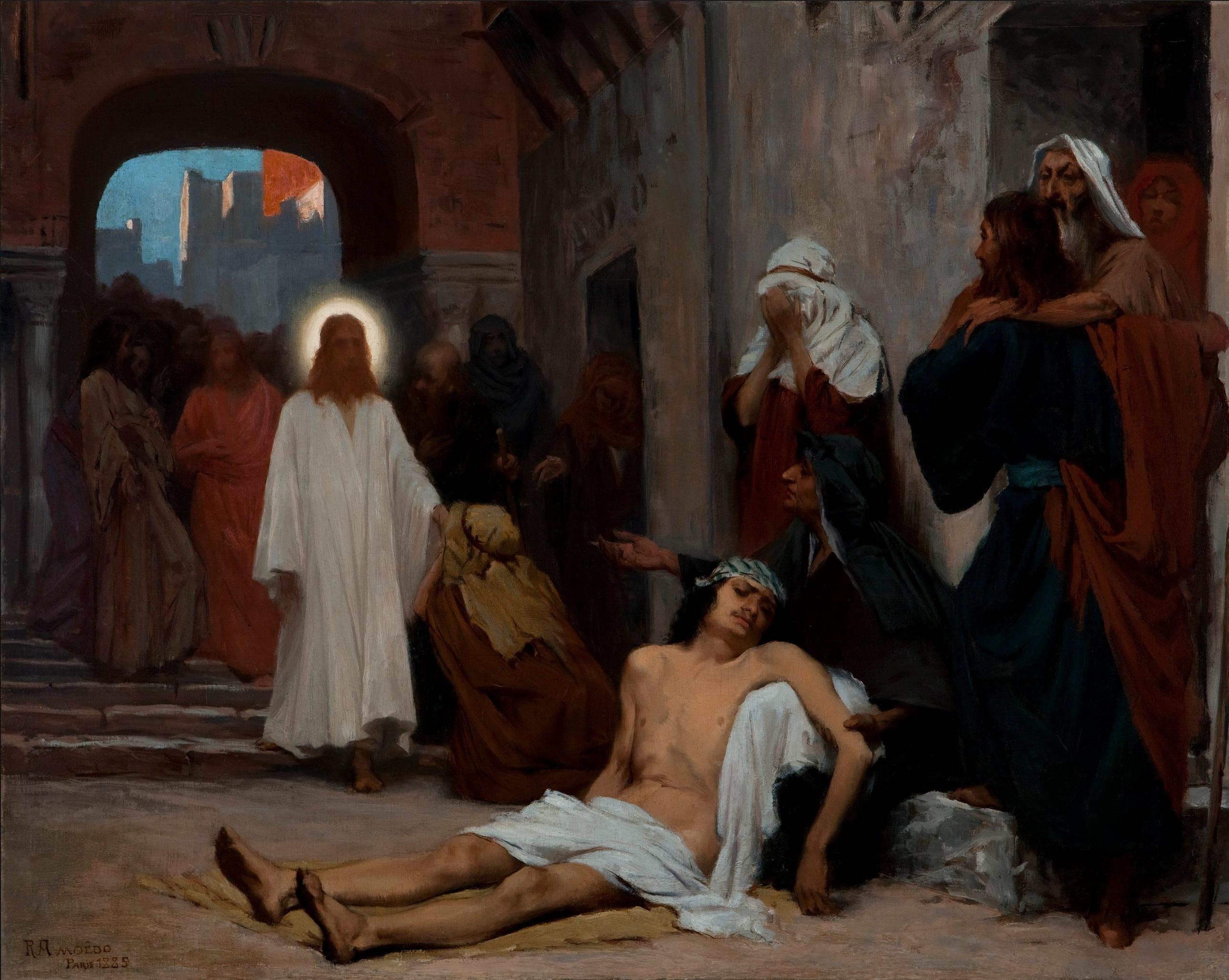 File Rodolfo Amoedo Jesus Cristo Em Cafarnaum Esboceto