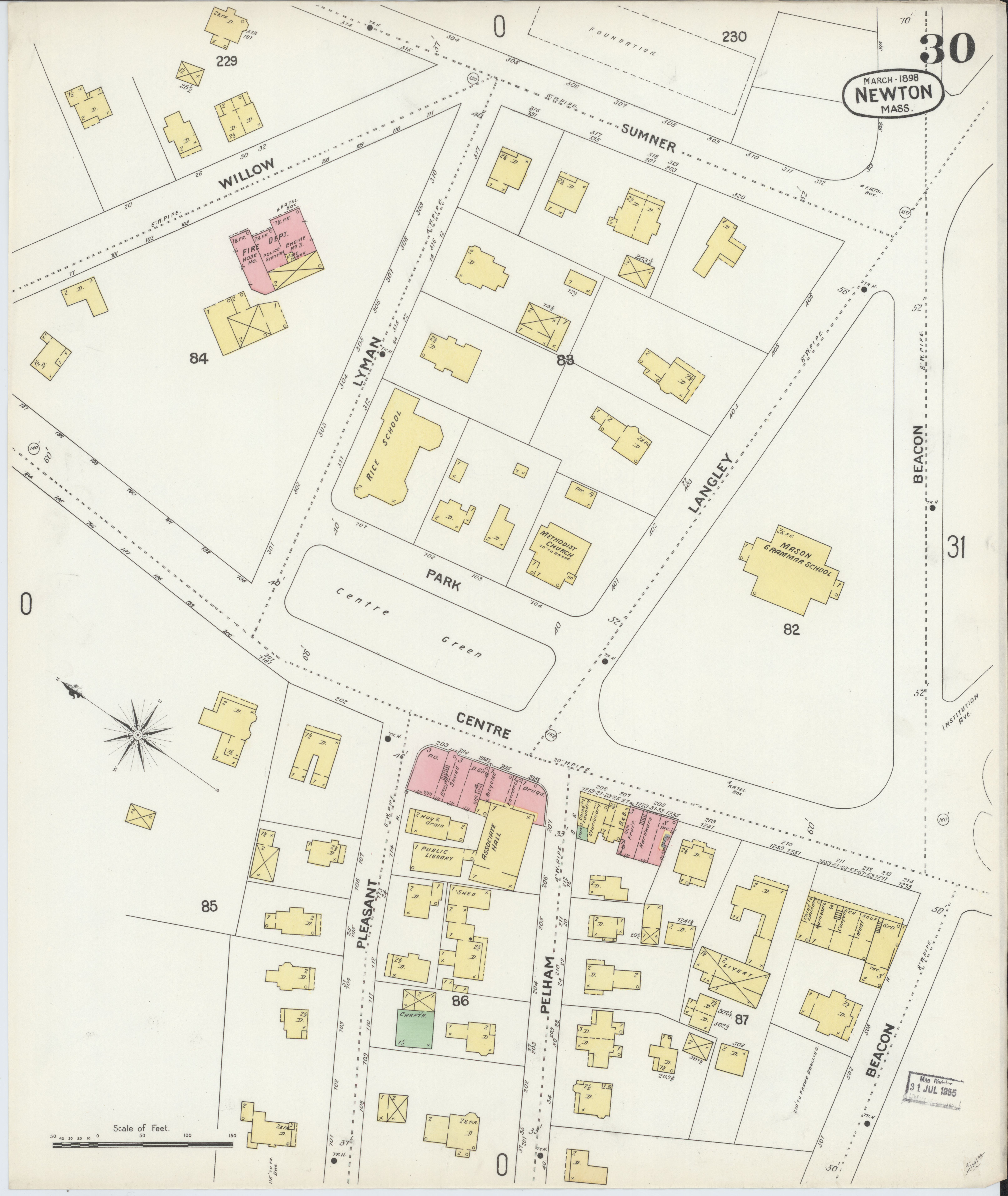 File:Sanborn Fire Insurance Map from Newton, Middle County ... on