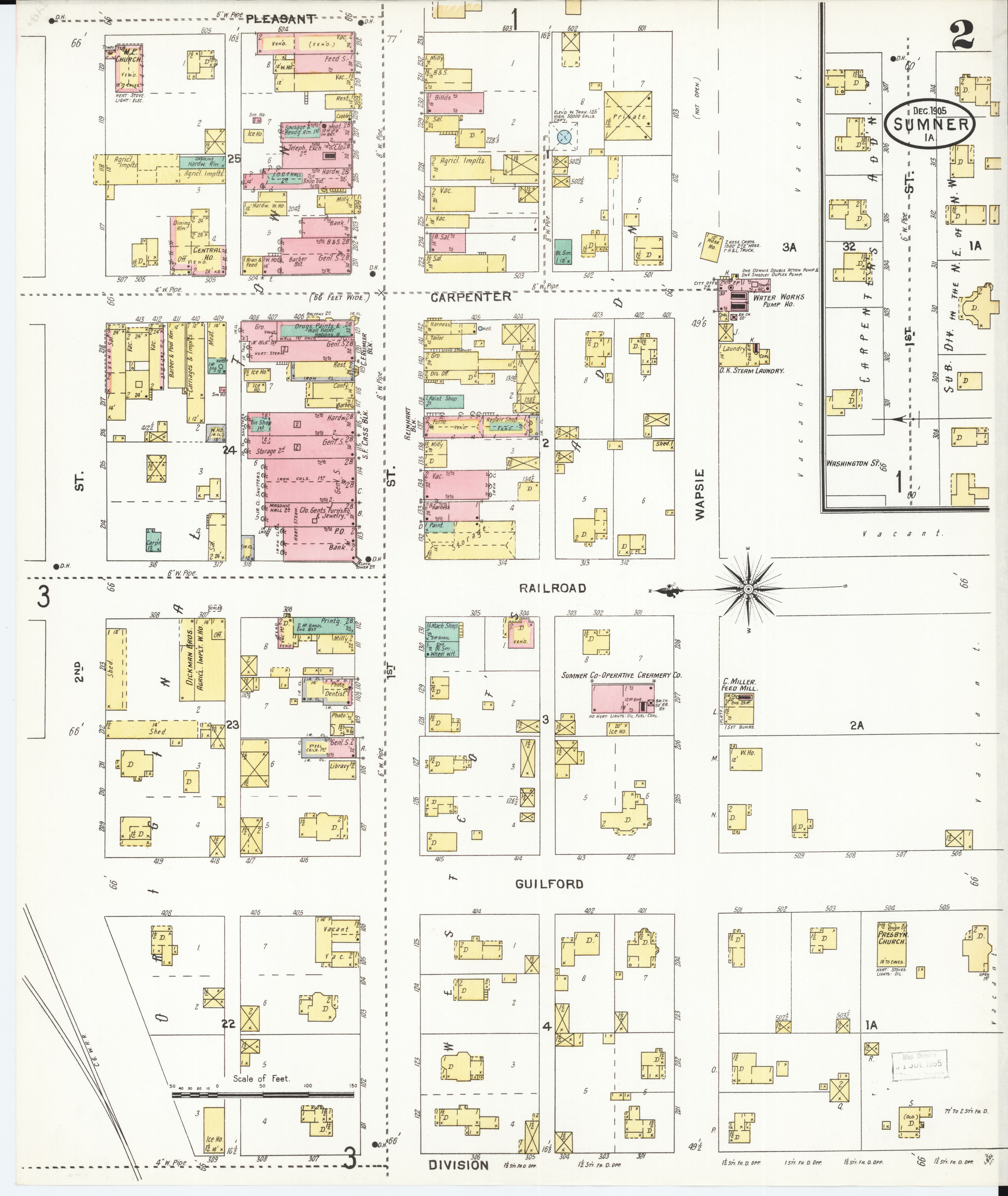 File:Sanborn Fire Insurance Map from Sumner, Bremer County