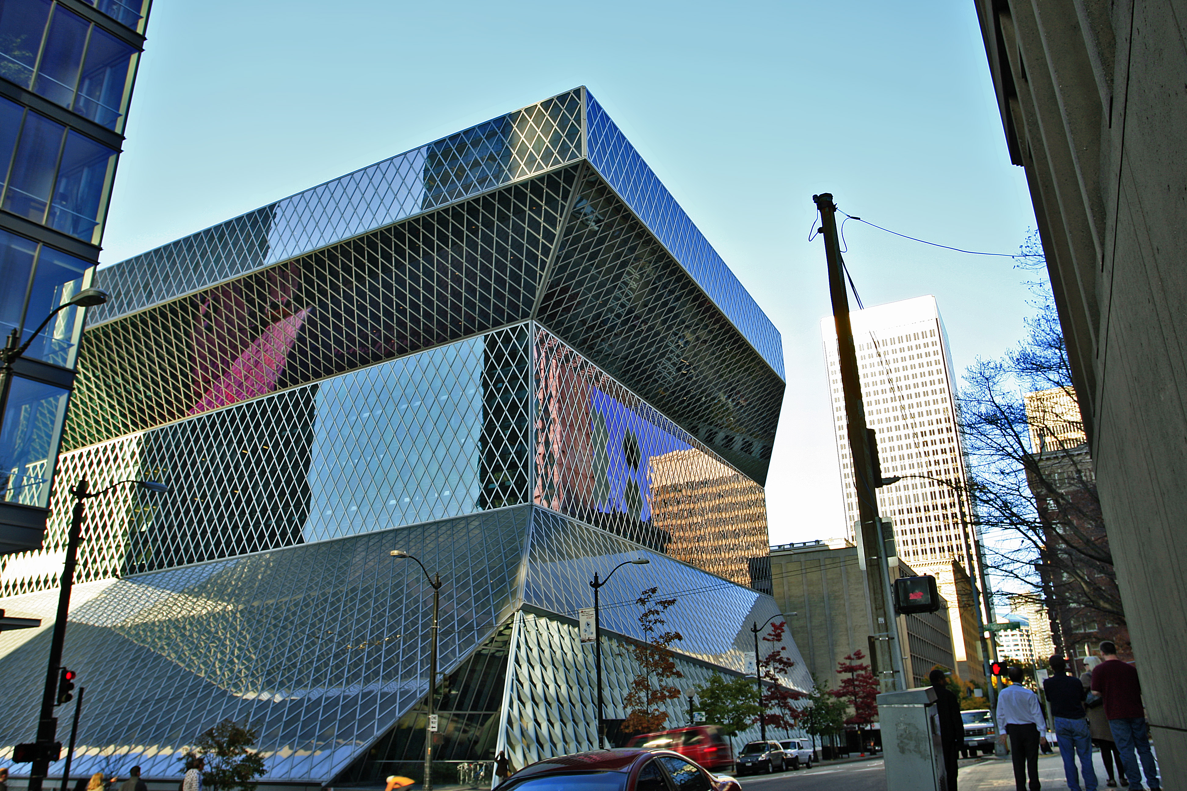 File Seattle Central Library By Ww7021 Jpg Wikimedia Commons
