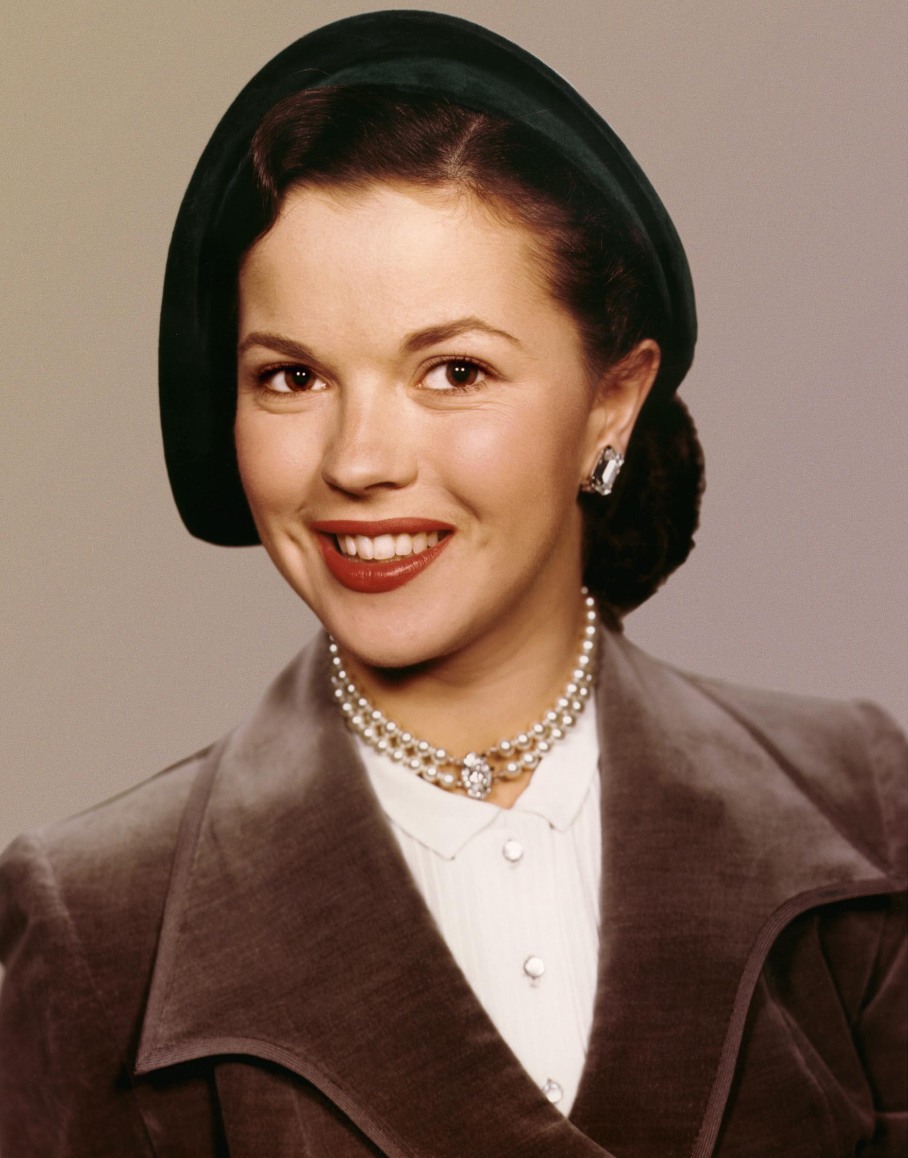 Shirley temple as a teen