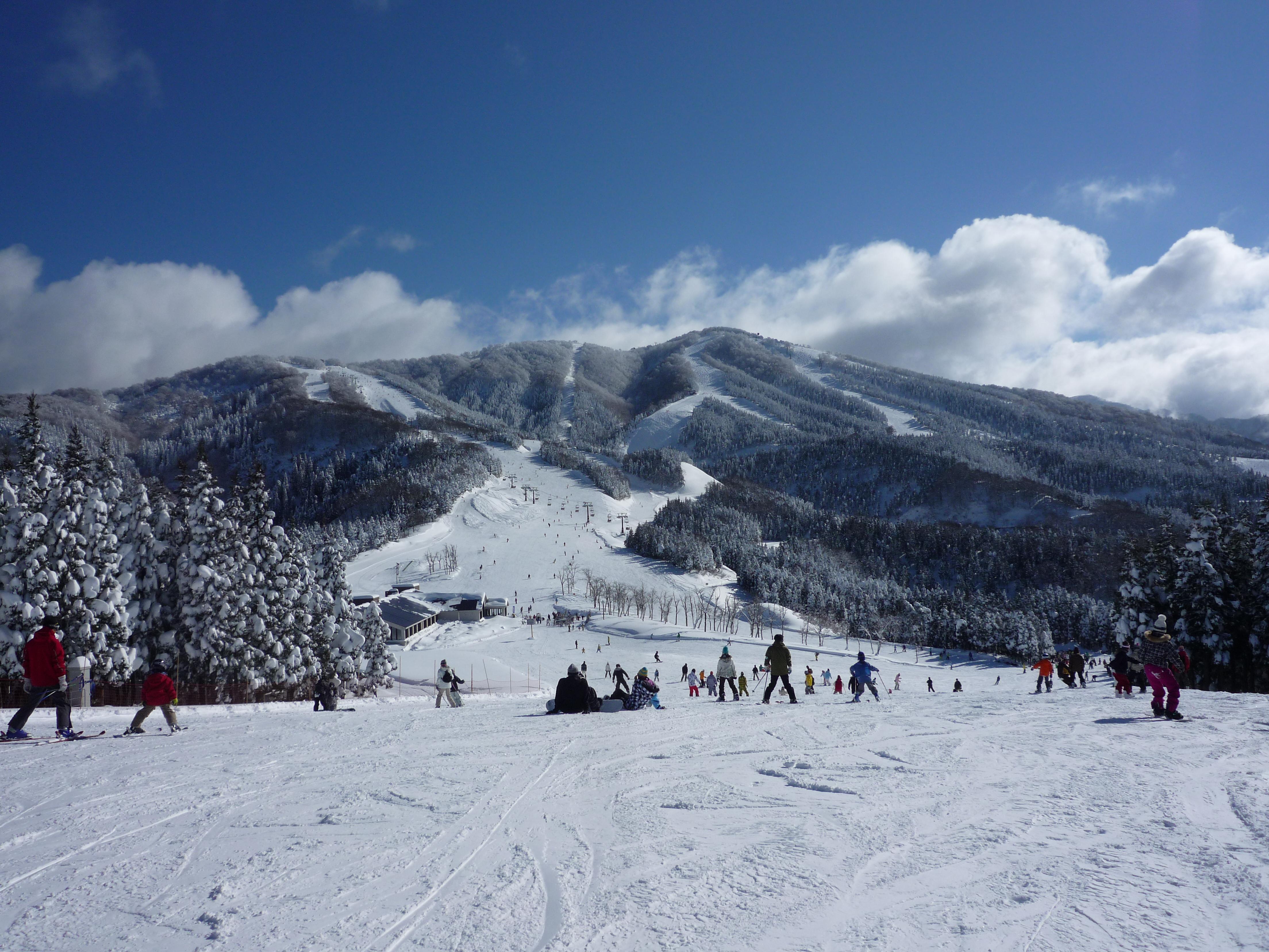 スキージャム勝山 | Mapio.net