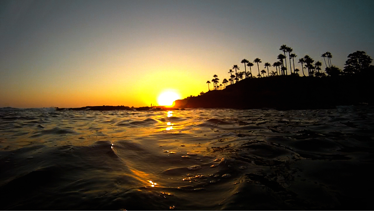File Snorkeling Laguna Beach Sunset Gopro Hd Camera