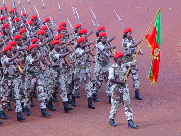 Soldiers of Eritrea (women)