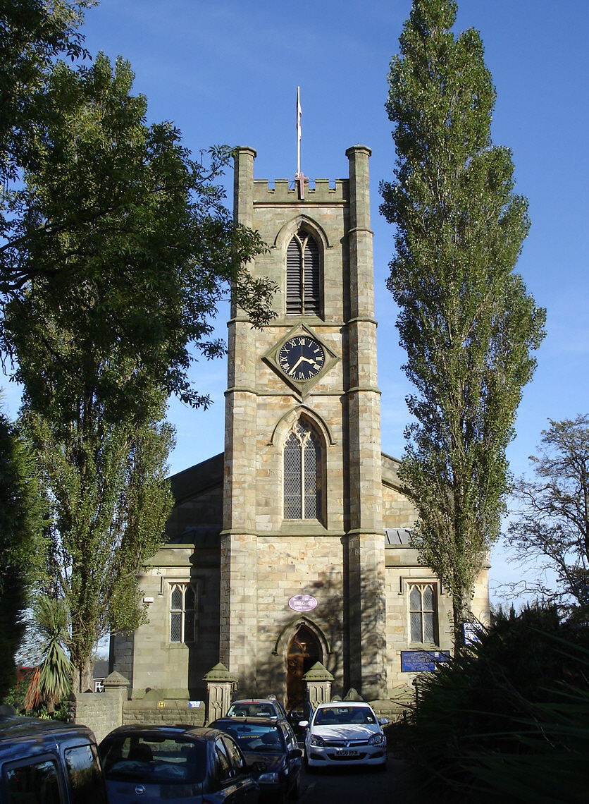 St John the Evangelist's Church, Farnworth - Wikipedia