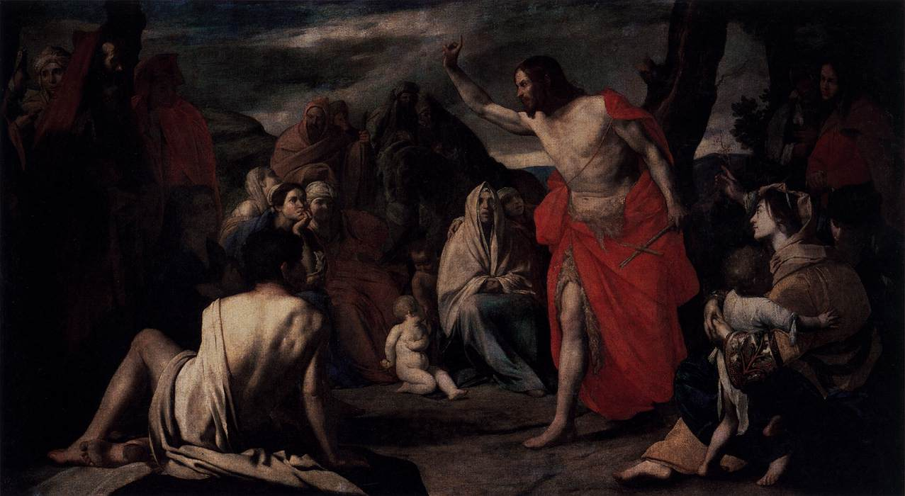 Stanzione, Massimo - The Preaching of St John the Baptist in the Desert