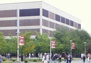 main academic library of Stony Brook University