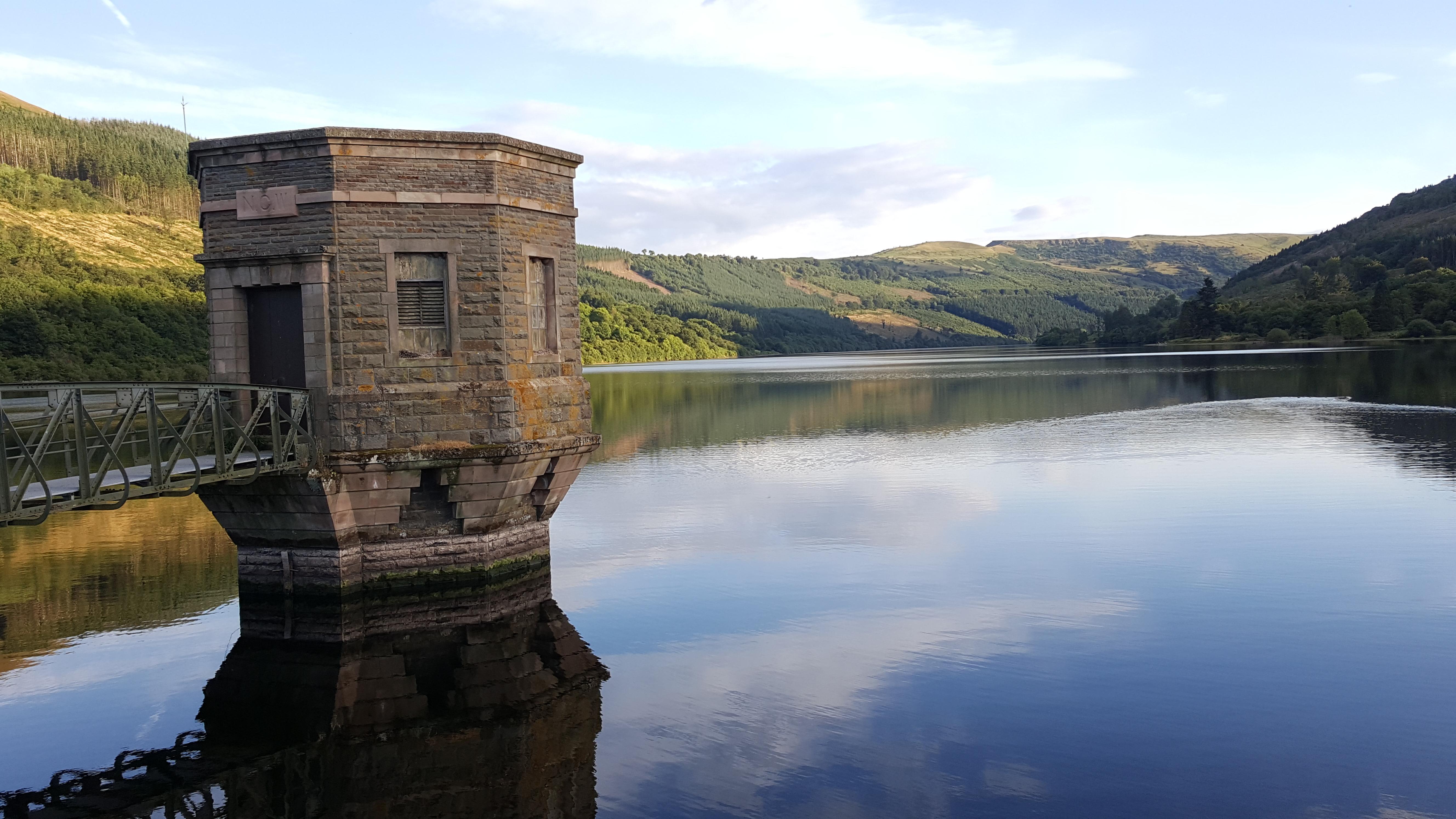 A view from Talybont Reservoir