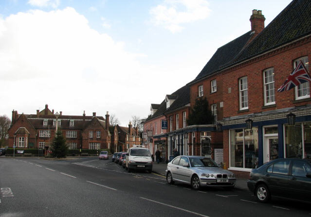 The Market Place - geograph.org.uk - 618350