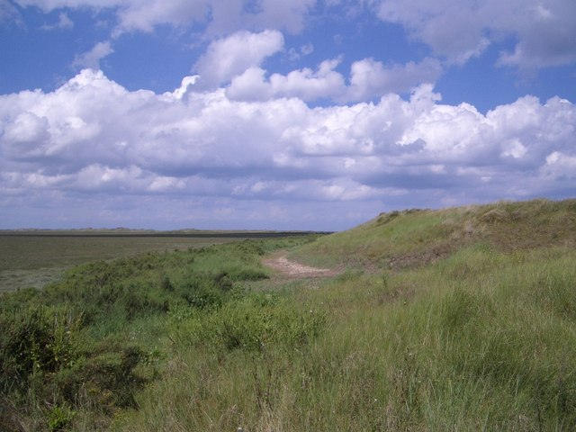 The Southern Edge of The Hood on Blakeney Point - geograph.org.uk - 480574