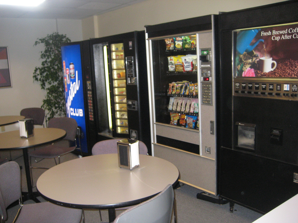 Break Room Ideas With Hickory Cabnetts