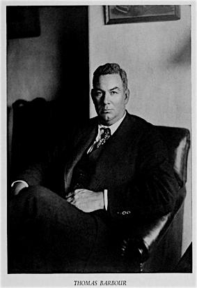 Barbour, Thomas (1884-1946)