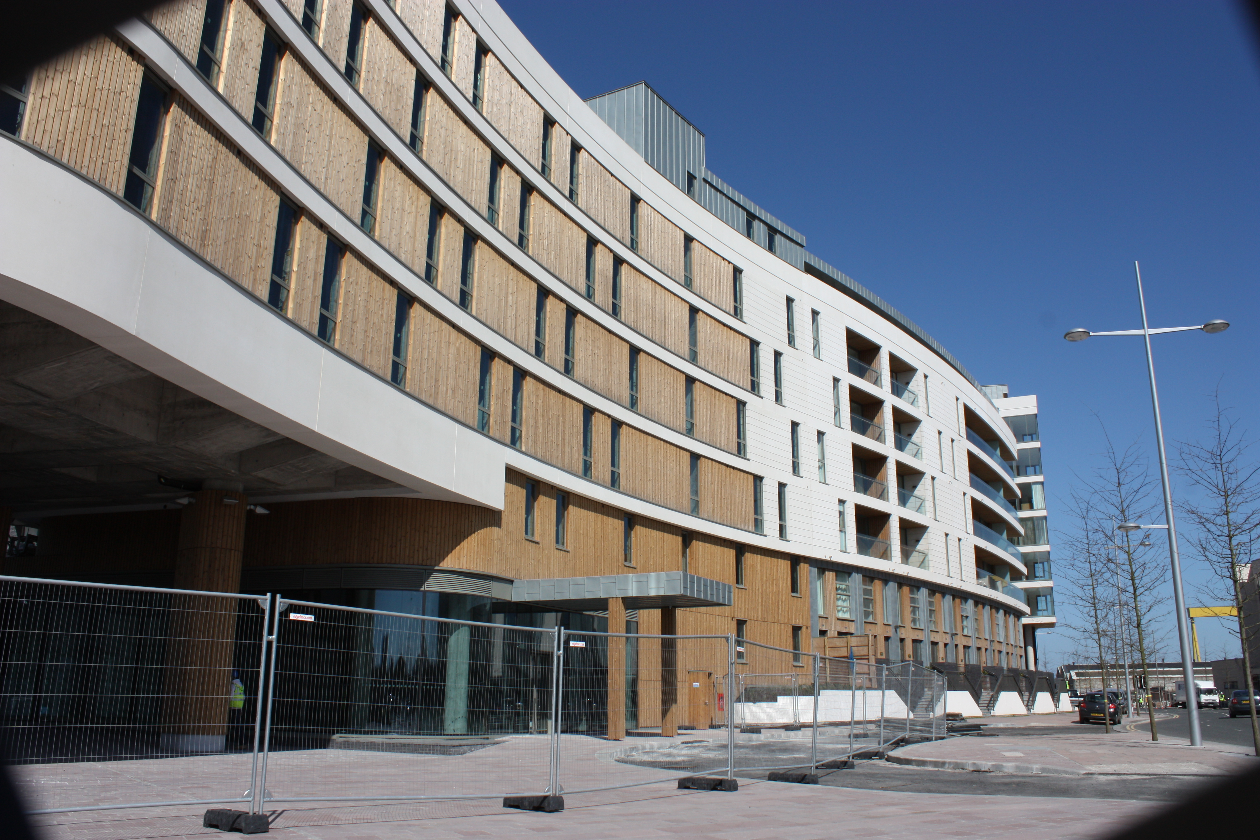 File:Titanic Quarter apartments, Belfast, April 2010 (05 ...