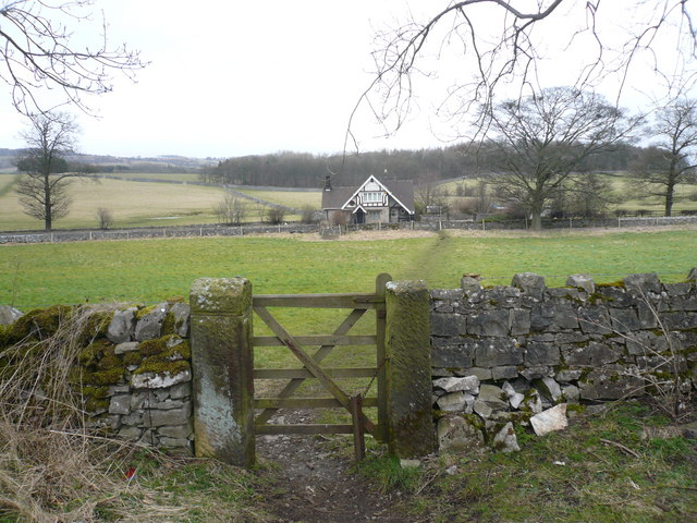 Toll Bar House - View from Monsal trail - geograph.org.uk - 718511