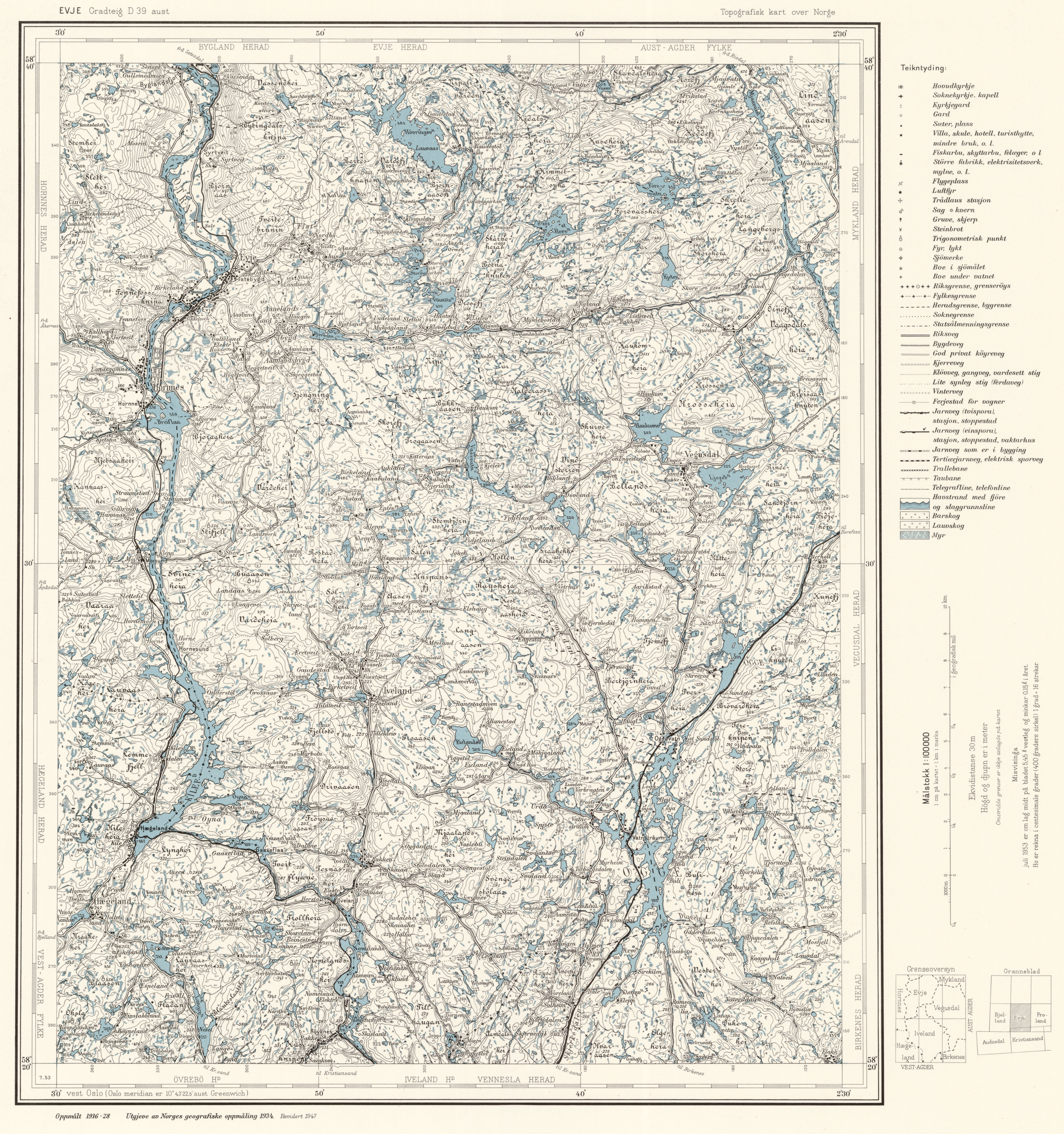Topographic Map Of Norway.File Topographic Map Of Norway D39 Aust Evje 1947 Jpg Wikimedia