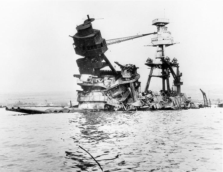 Image result for U.S.S. Arizona, 1941 wreck